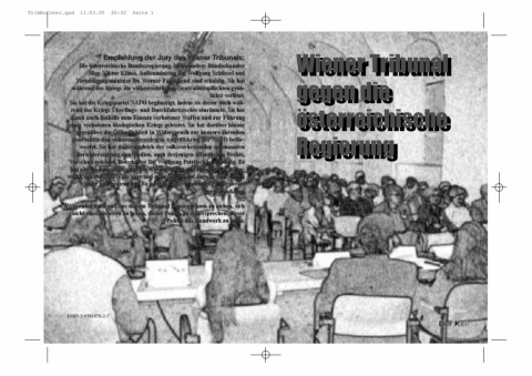 Cover Buch Wiener Tribunal