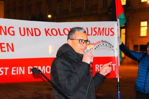 Imad Garbaya, Antiimperialistische Koordination