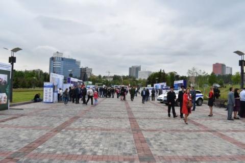 Messestraße: Vorstellung der Ministerien