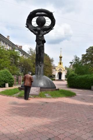 Denkmal für die Opfer von Tscherobyl