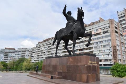 Woroschilow, General der Roten Armee