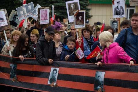 Feierlichkeiten am 9. Mai zum Sieg über den Faschismus