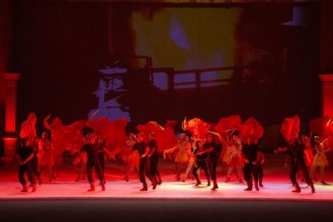 Thema der Tanzaufführung: Verhüttung