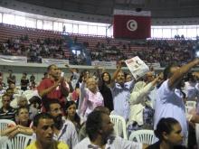 erster legaler Kongress der Kommunistischen Arbeiterpartei Tunesiens PCOT