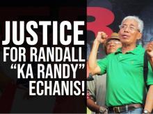 Nein zu den politischen Morden durch Duterte