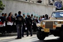 Schulstreik in Alexandria