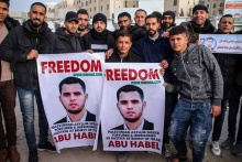 Action pour Abu Habel en Gaza
