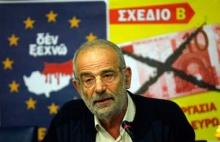 Alavanos, Sprecher der griechischen Organisation Plan B