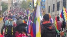 Volkswiderstand gegen Konterrevolution in Bolivien