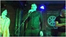 Honcharuk, Zelenskys Premier, spricht am 13.10.19 beim Konzert der Neonazi-Band Sokira Peruna