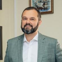 Maxim Goldarb, Vorsitzender der Union Linker Kräfte der Ukraine