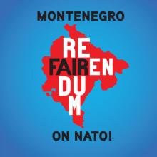 Montenegrinische Anti-Nato-Kampagne in Wien