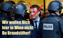 Macron Brandstifter