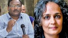 GN Saibaba und Arundathi Roy